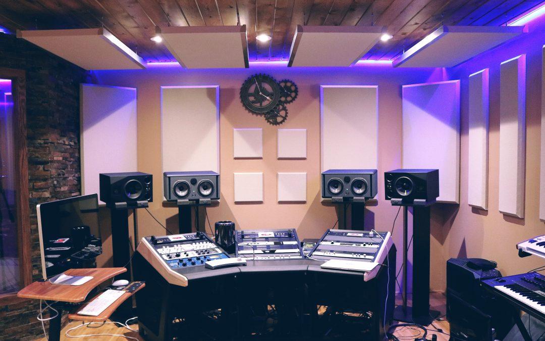 Recording and TV studios